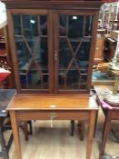 Display cabinet on table base, early 20th Century