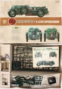 Collectables: An Airfix 12th Scale, 1930 Bentley 4 1/2 Litre Supercharged 09398-1, most contents