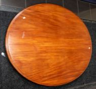 Oval tilt top table plus two dining chairs