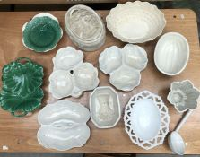 A large collection of ceramics, to include Wedgwood, Spode and Shelley examples, all A/F (qty)