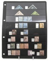 Cape of Good Hope 62 with triangular 4d (2) 6d, ½, useful Hope seated to 5/2, 1893 and 1902 sets,