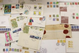 A large bag of covers, mainly FDC's hand addressed and GB
