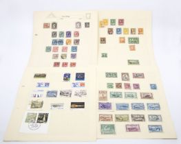 Canada about 200 with 1897 maple leaves to 10c (6c) KED to 50c, KG5 to $1 etc to 1970's