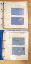 GB officials range of about 100 covers in 2 vols, beautifully displayed and written up, further