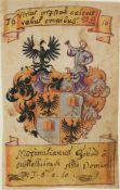 Wappenmalereien.