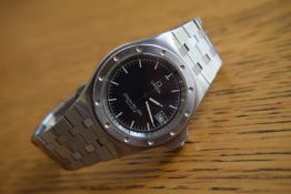 Omega Seamaster Stainless Steel Watch