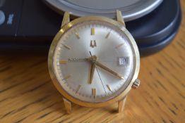 14k Bulova Accutron Watch