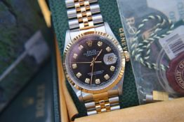 Full Set / Rolex Ref. 16233 Datejust *HD VIDEO INCLUDED* - 36mm, 18ct Yellow Gold/ Steel
