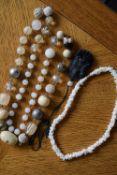 Joblot of Necklaces with Jade