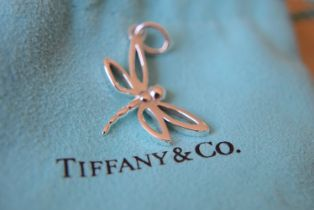 Tiffany & Co. Sterling Silver Dragonfly Pendant/ Charm