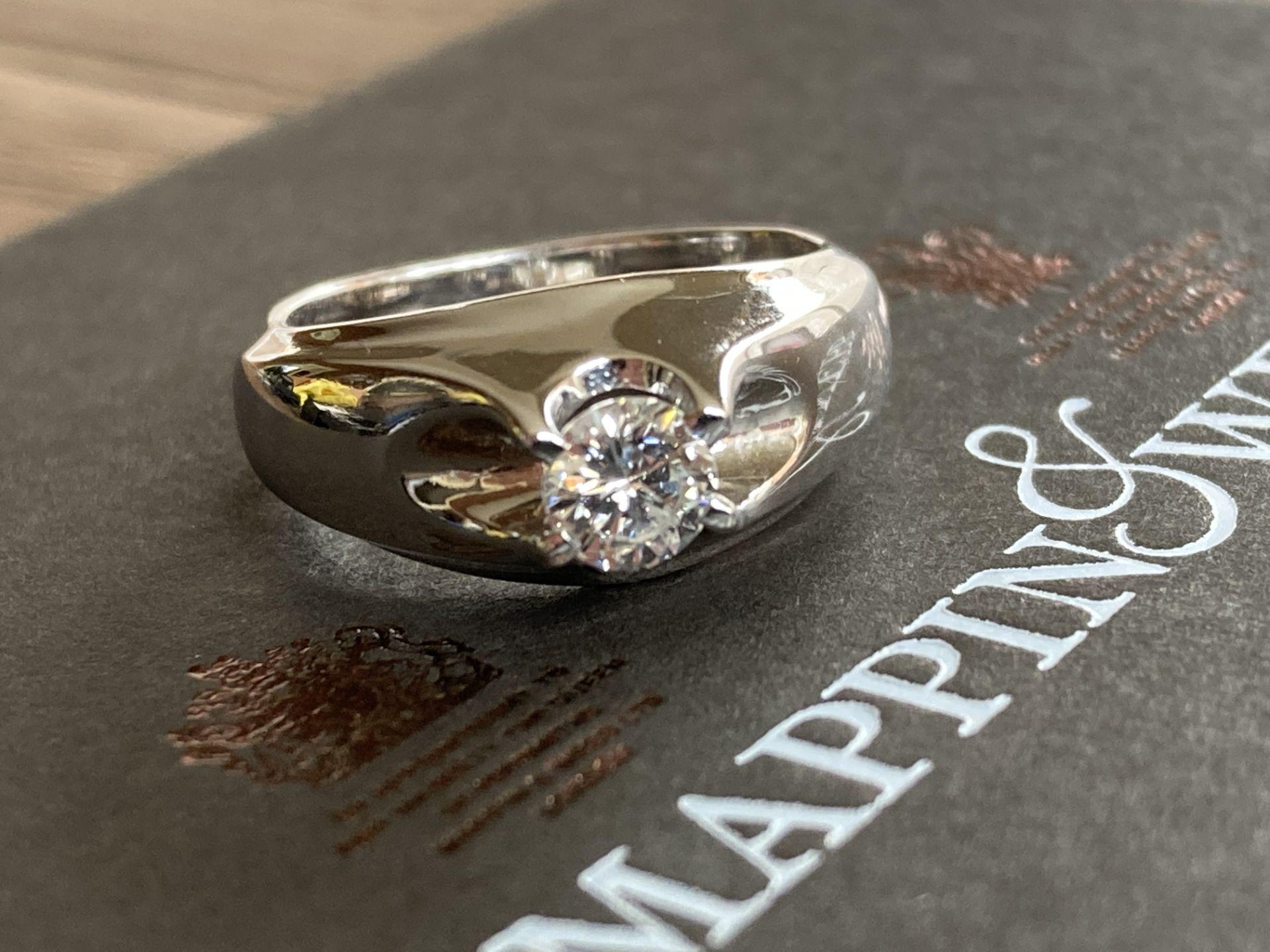 18CT GOLD 0.3CT DIAMOND RING