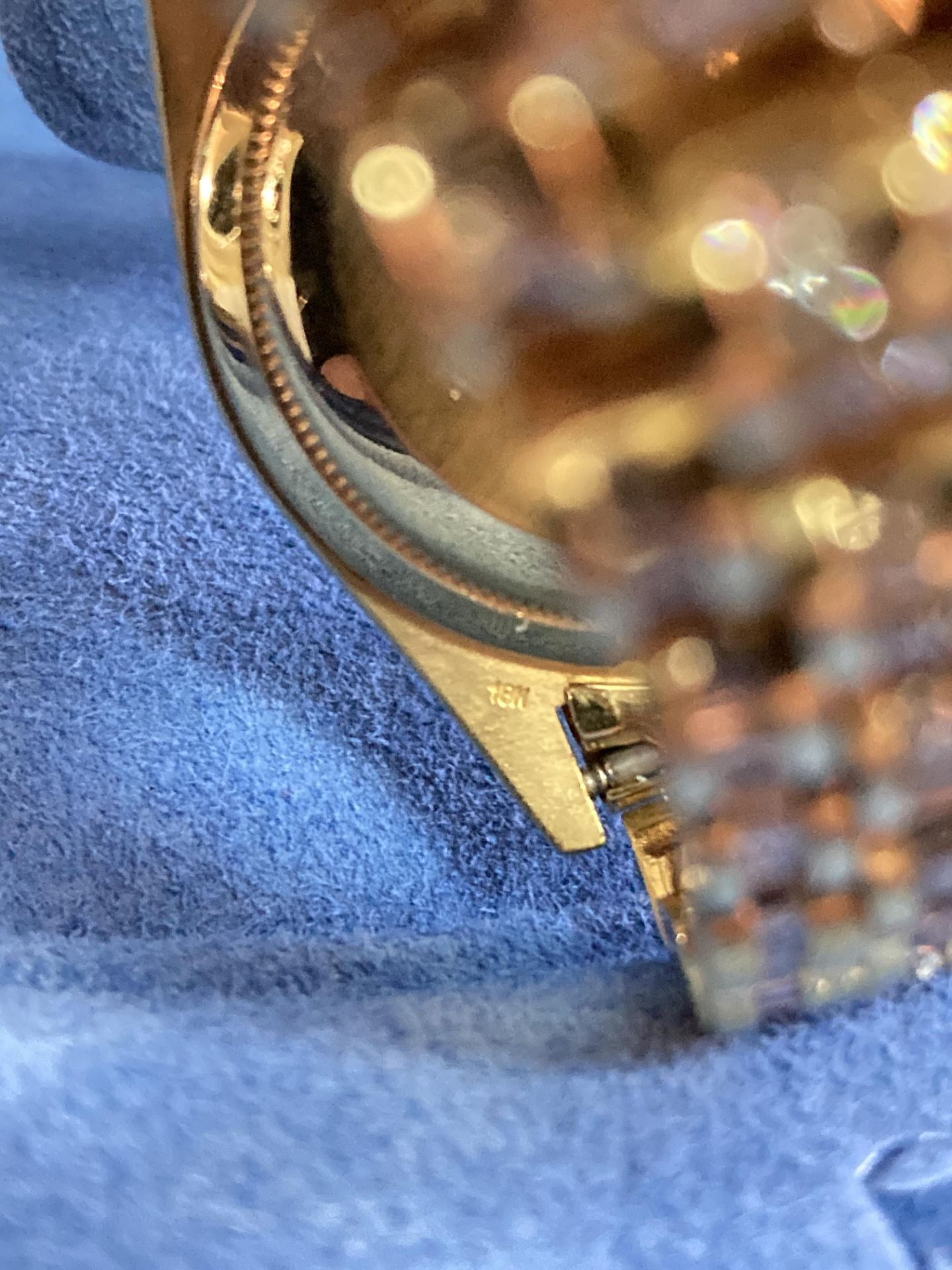 GENTS 36mm ROLEX DAYDATE YELLOW GOLD DIAMOND WATCH - Image 16 of 21