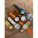 MIXED WATCHES INC SUPERDRY, TAG, JOSHUA AND SONS ETC