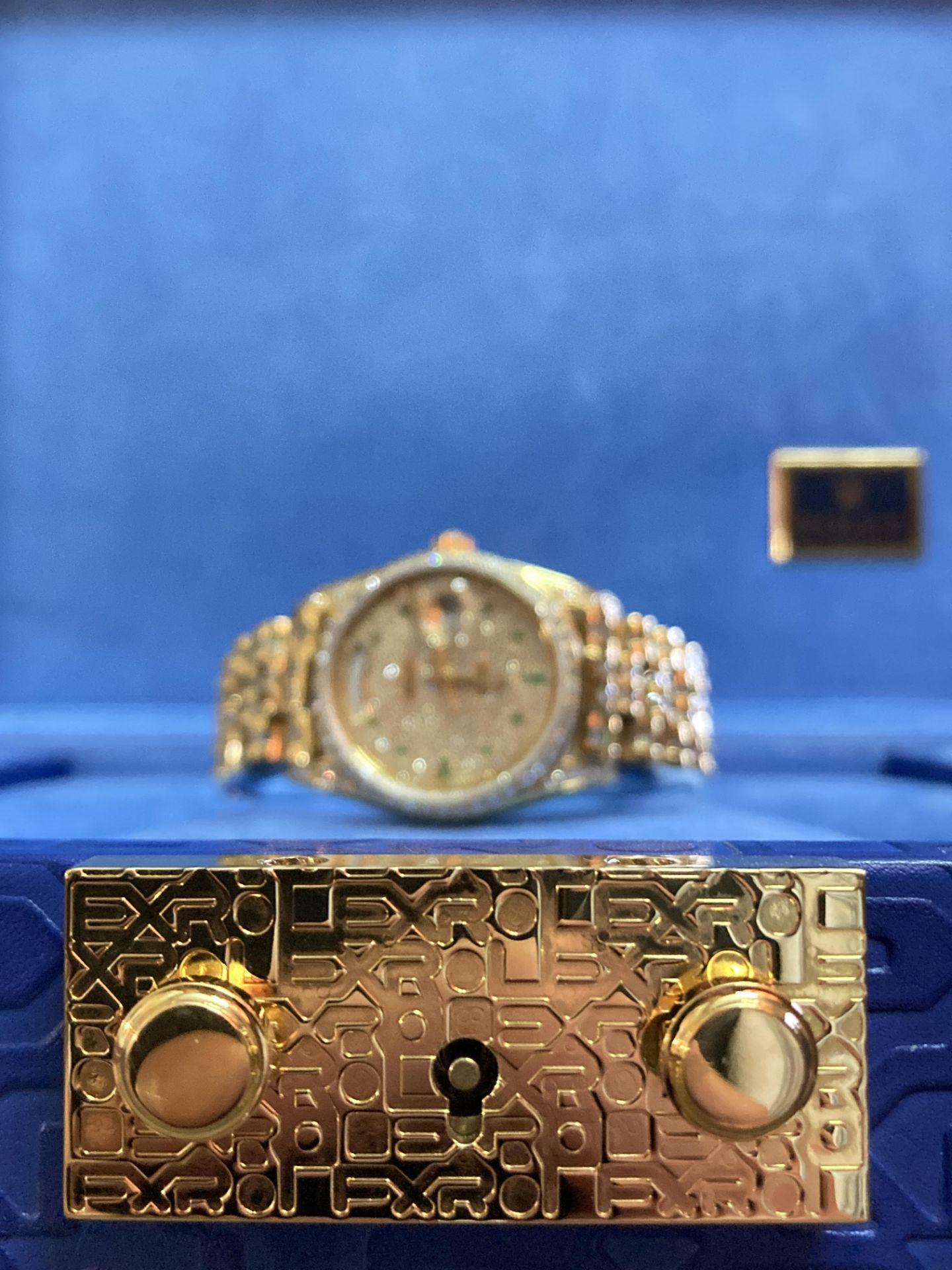 GENTS 36mm ROLEX DAYDATE YELLOW GOLD DIAMOND WATCH - Image 10 of 21