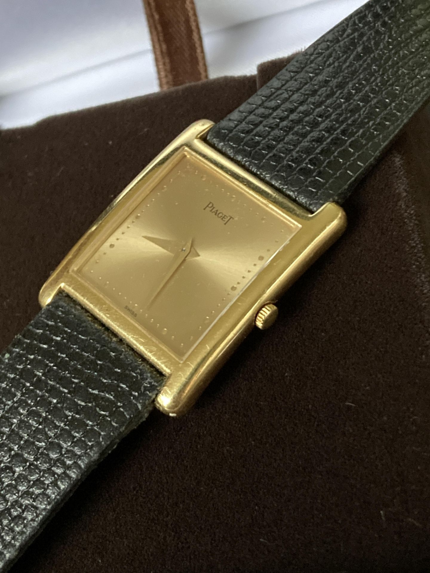 GOLD PIAGET WATCH - 22MM - Image 2 of 6