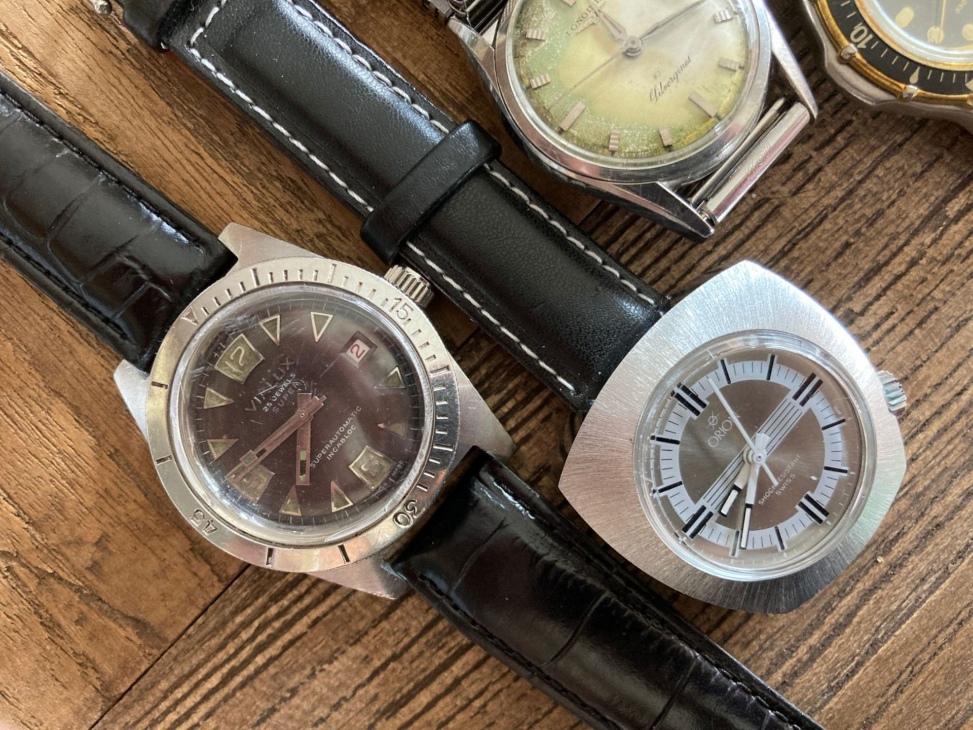 MIXED WATCHES INC LONGINES, ORION, VIALUX - Image 3 of 3