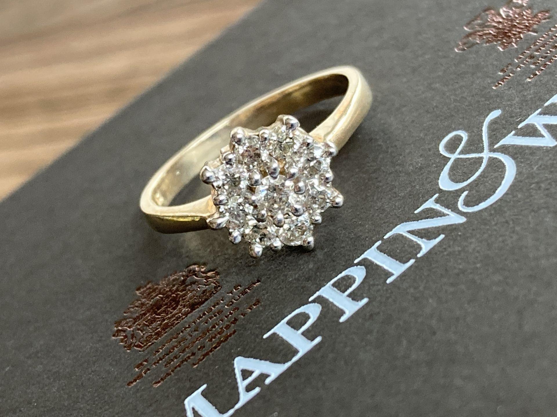 9CT GOLD 0.5CT DIAMOND RING