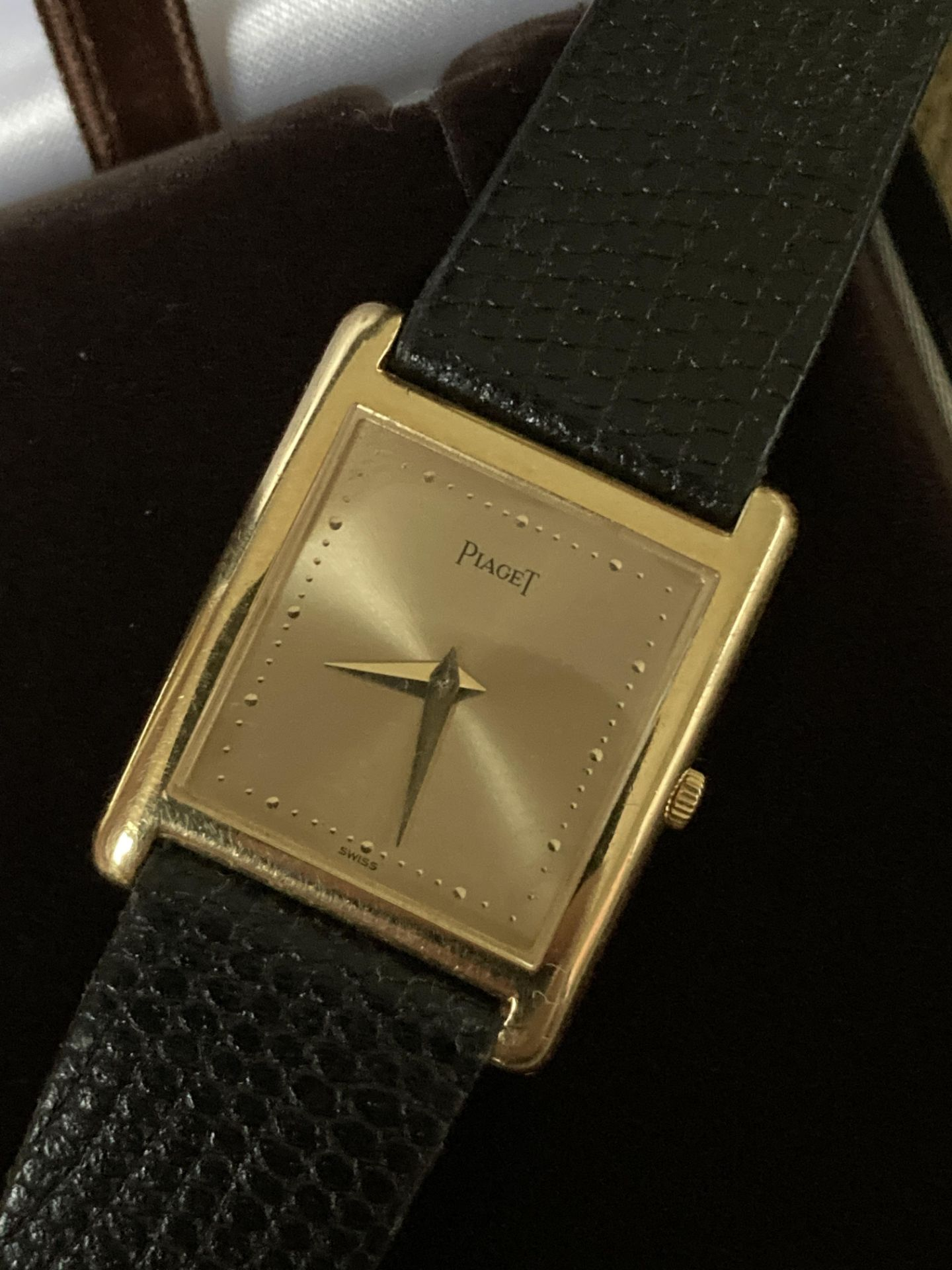 GOLD PIAGET WATCH - 22MM - Image 4 of 6