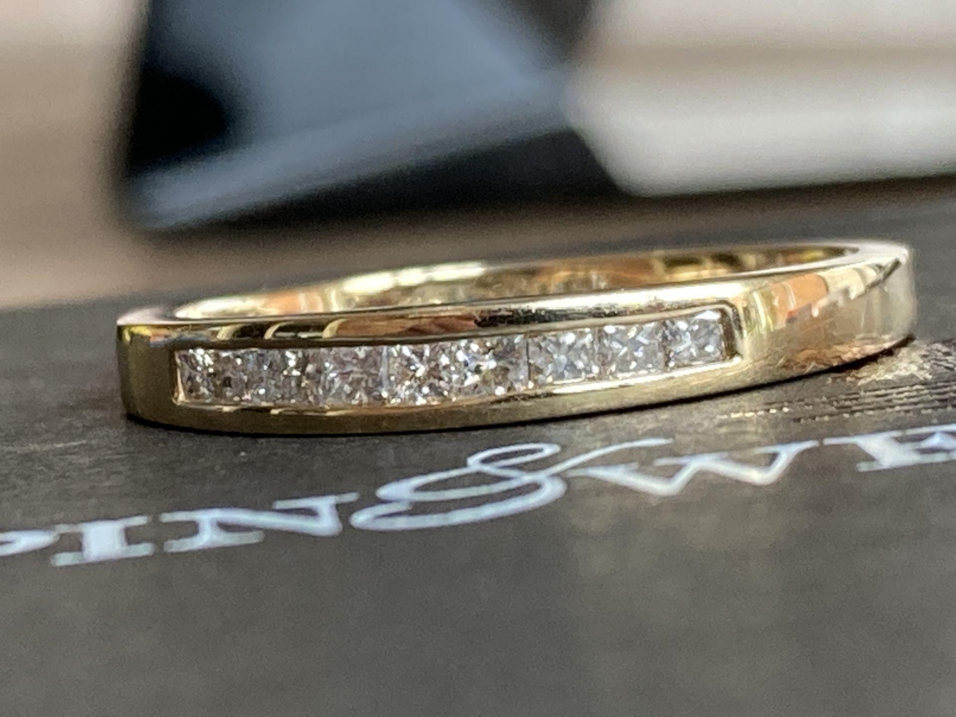 0.35CT DIAMOND SET RING IN 14K GOLD