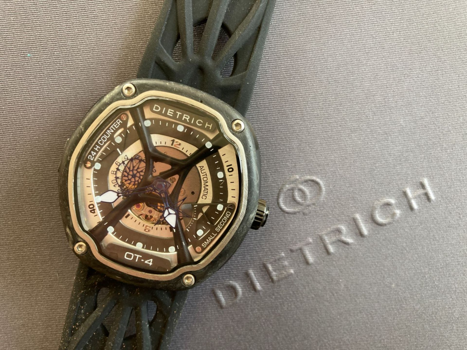 DIETRICH WATCH - BOXED WITH ORIGINAL EXTRAS