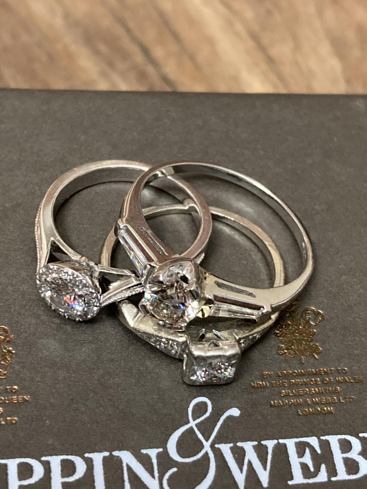 BEAUTIFUL TRIO OF DIAMOND RINGS - Image 3 of 6