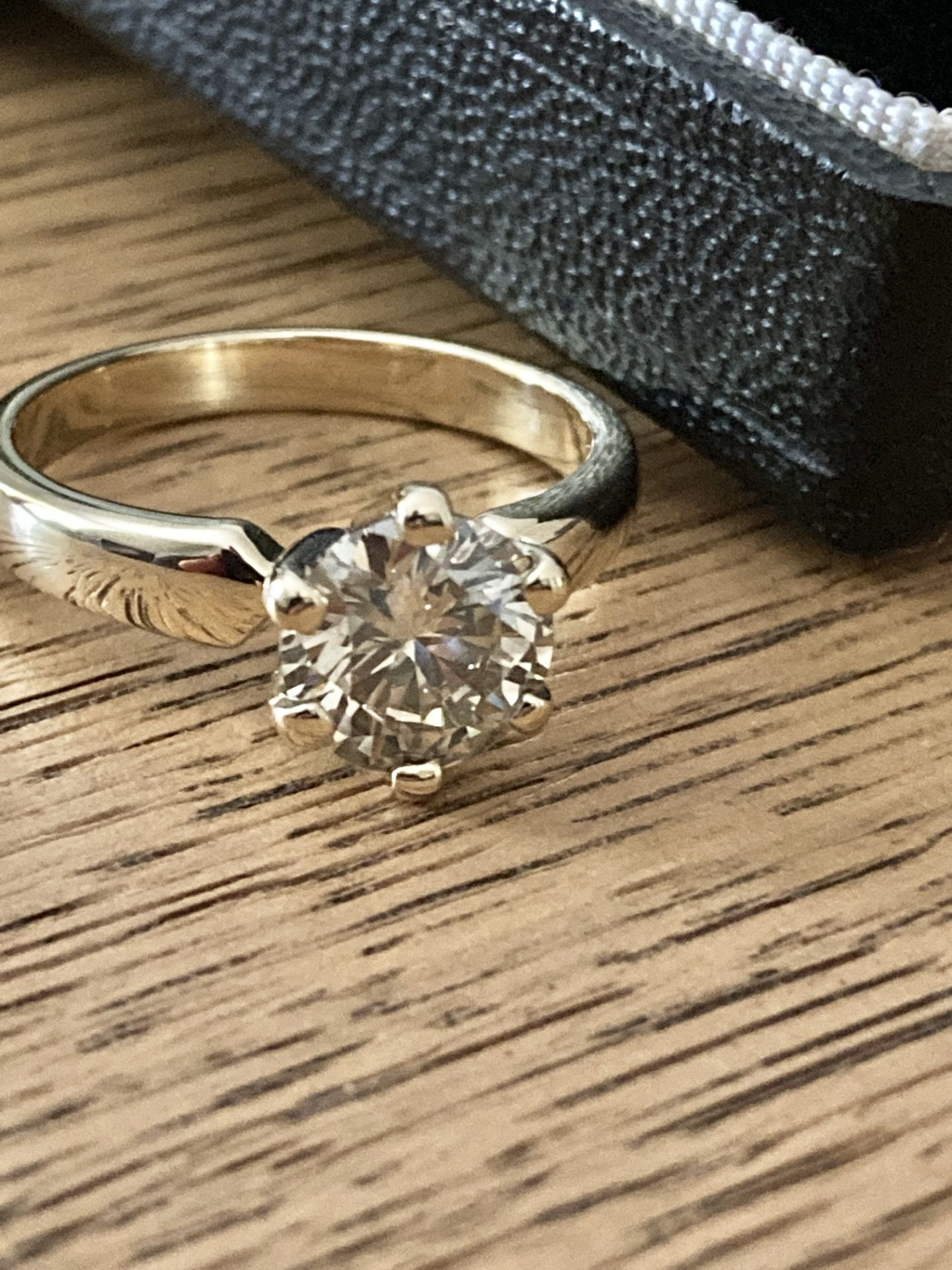 1.54CT DIAMOND SOLITAIRE RING Y. GOLD (ROUND BRILLIANT) - 2012 VALUATION £6,200 INCLUDED - Image 14 of 14