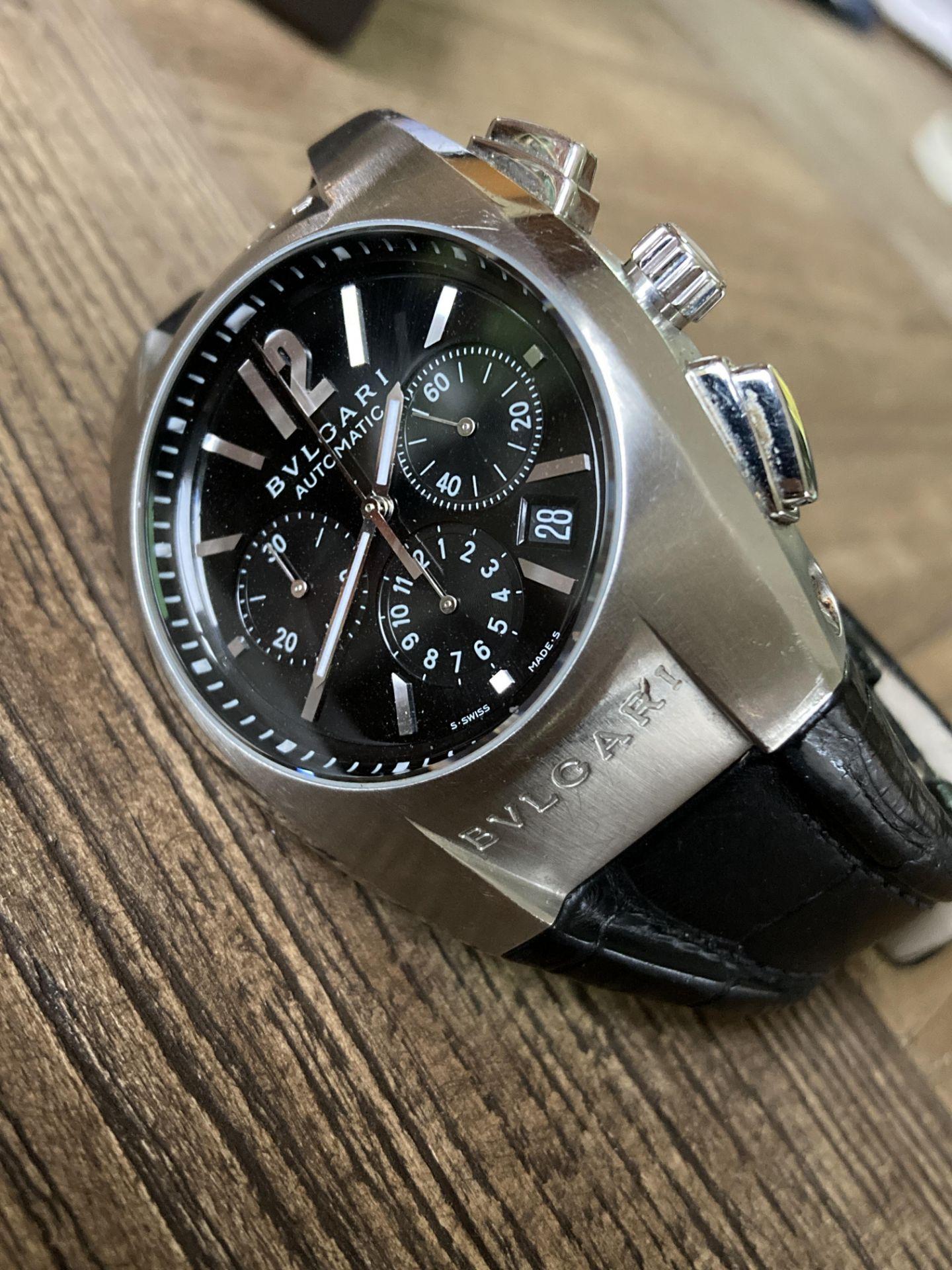 BVLGARI CHRONO AUTOMATIC WATCH - 40MM