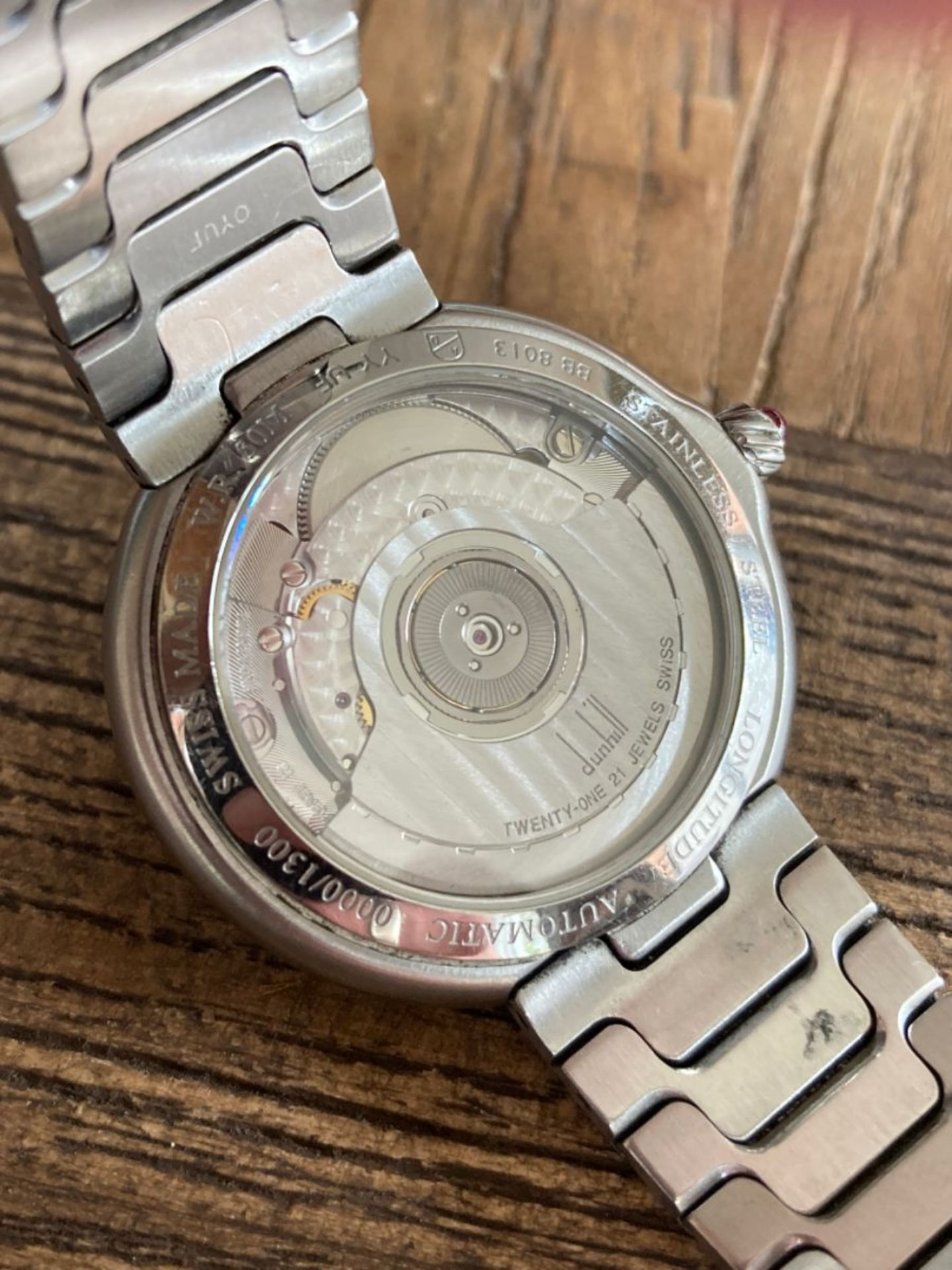 ALFRED DUNHILL WATCH - Image 4 of 6