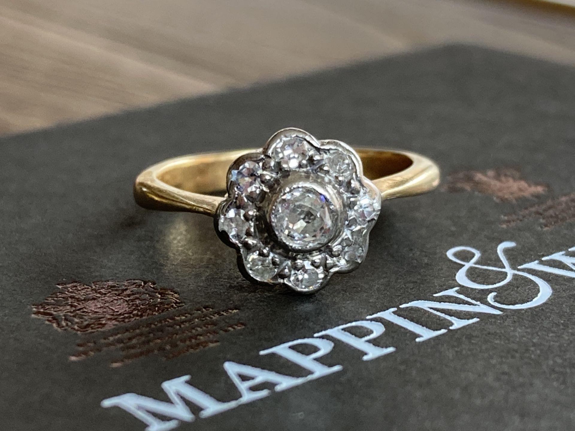 18CT GOLD 0.5CT DIAMOND RING