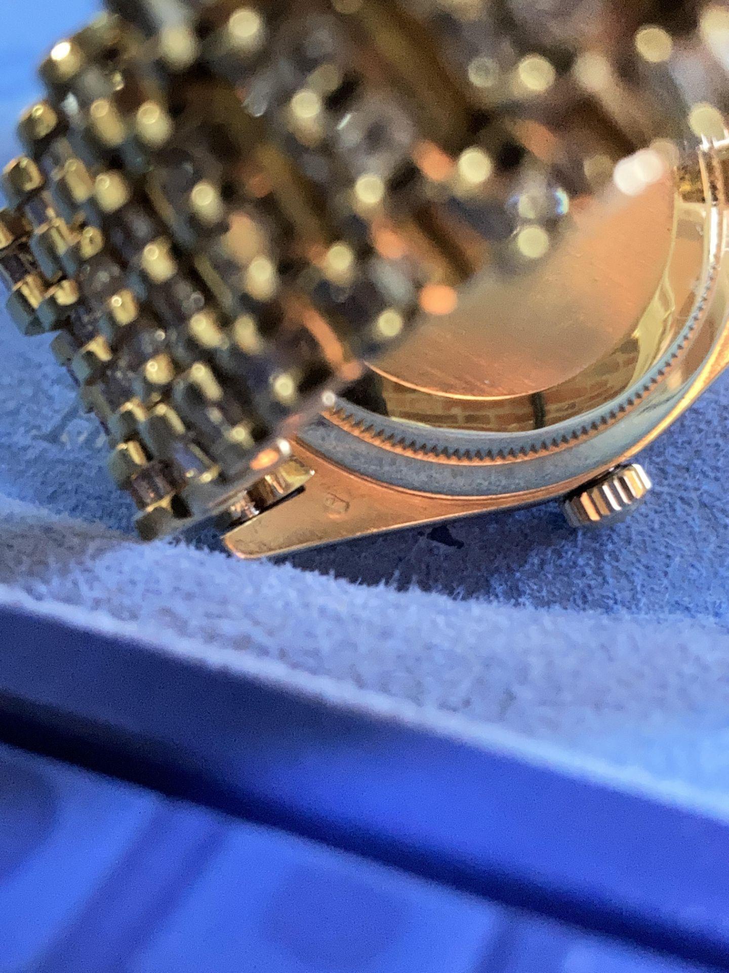 GENTS 36mm ROLEX DAYDATE YELLOW GOLD DIAMOND WATCH - Image 17 of 21