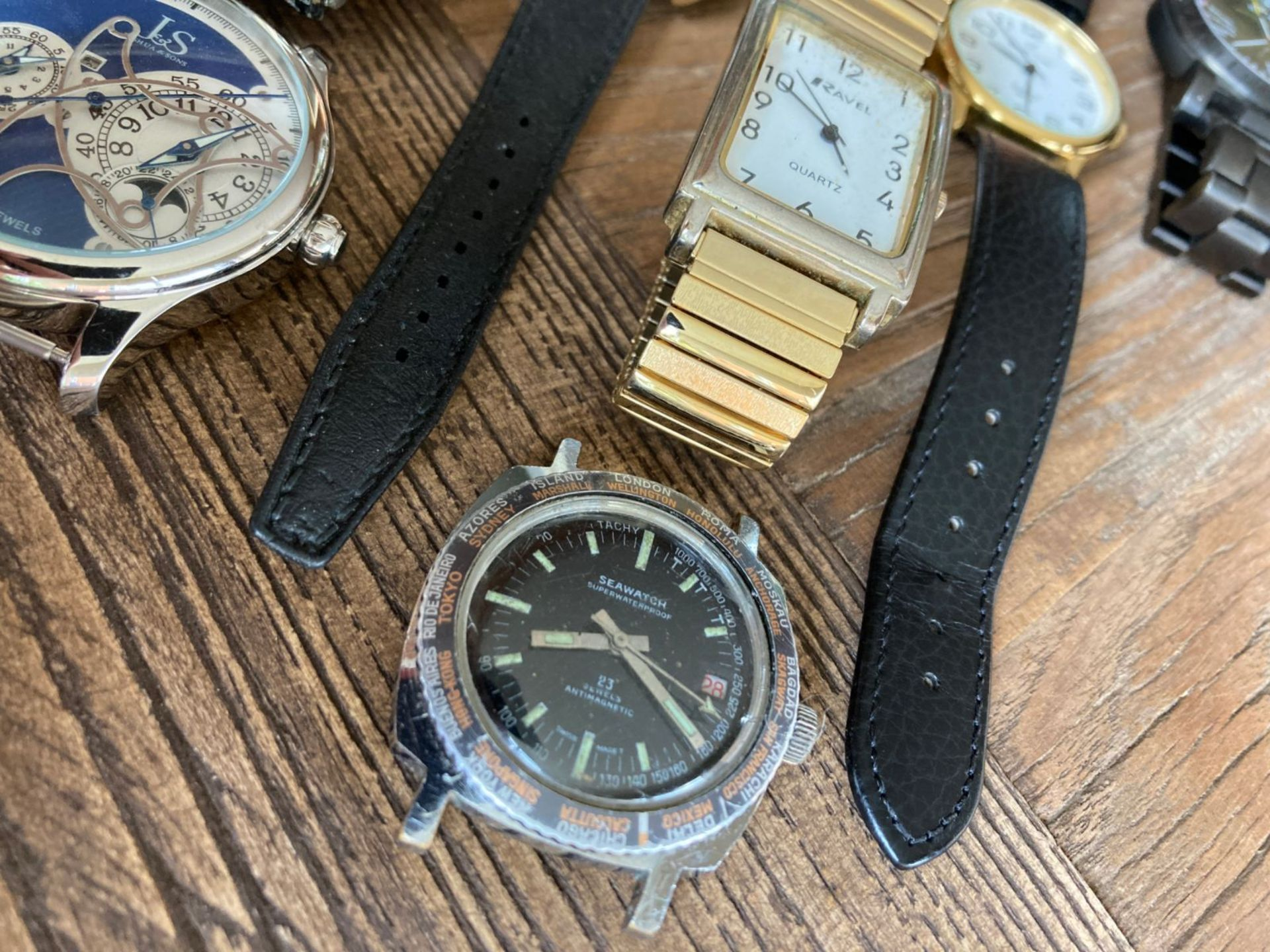 MIXED WATCHES INC SEAWATCH, JOSHUA AND SONS ETC - Image 3 of 4