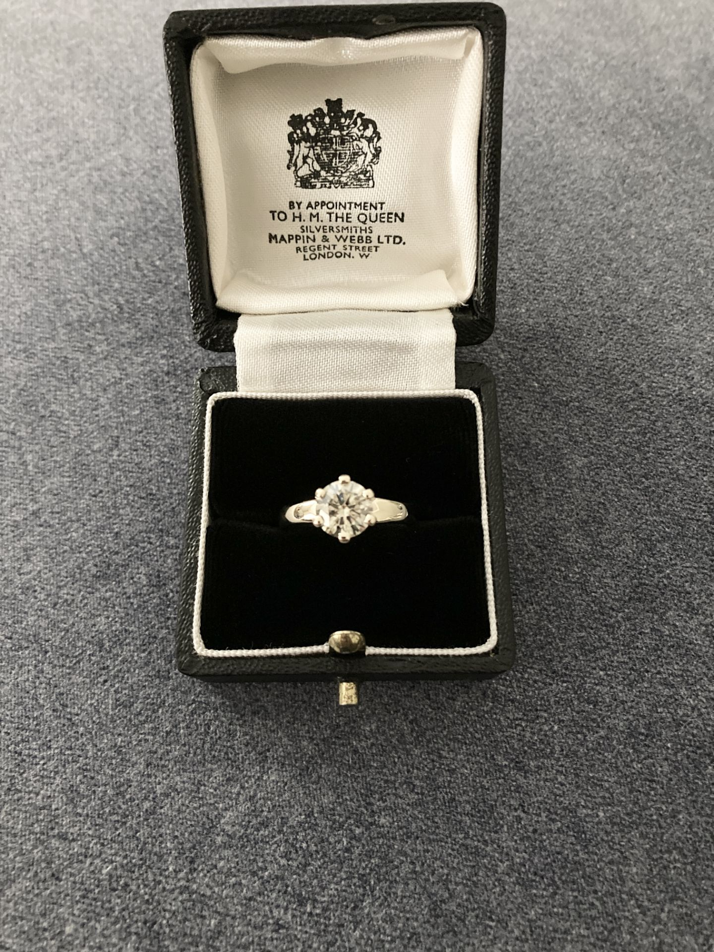 1.54CT DIAMOND SOLITAIRE RING Y. GOLD (ROUND BRILLIANT) - 2012 VALUATION £6,200 INCLUDED - Image 2 of 14