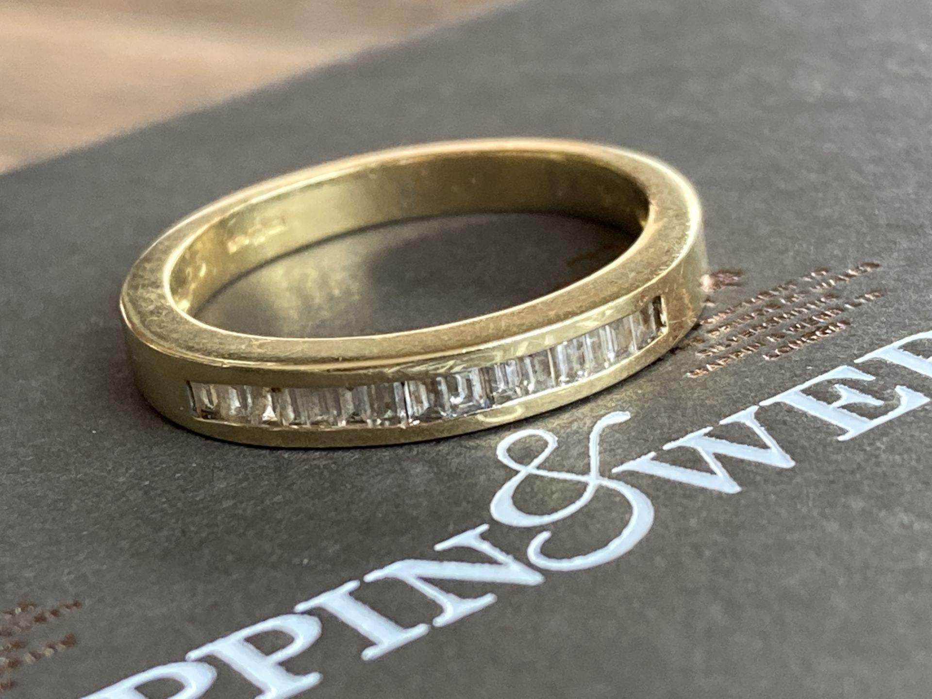 18K GOLD 0.3CT DIAMOND RING - Image 2 of 2
