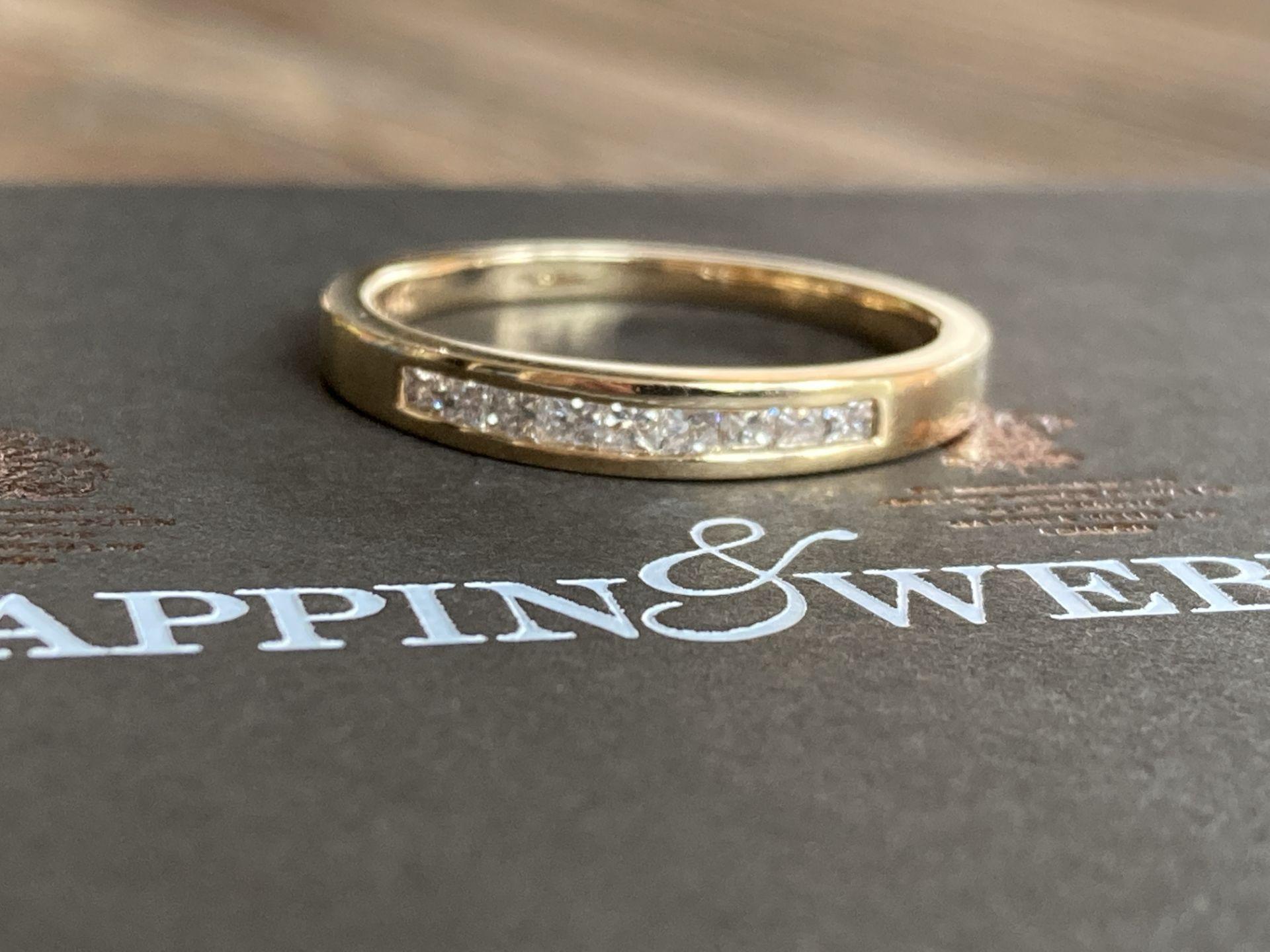 0.35CT DIAMOND SET RING IN 14K GOLD - Image 2 of 2