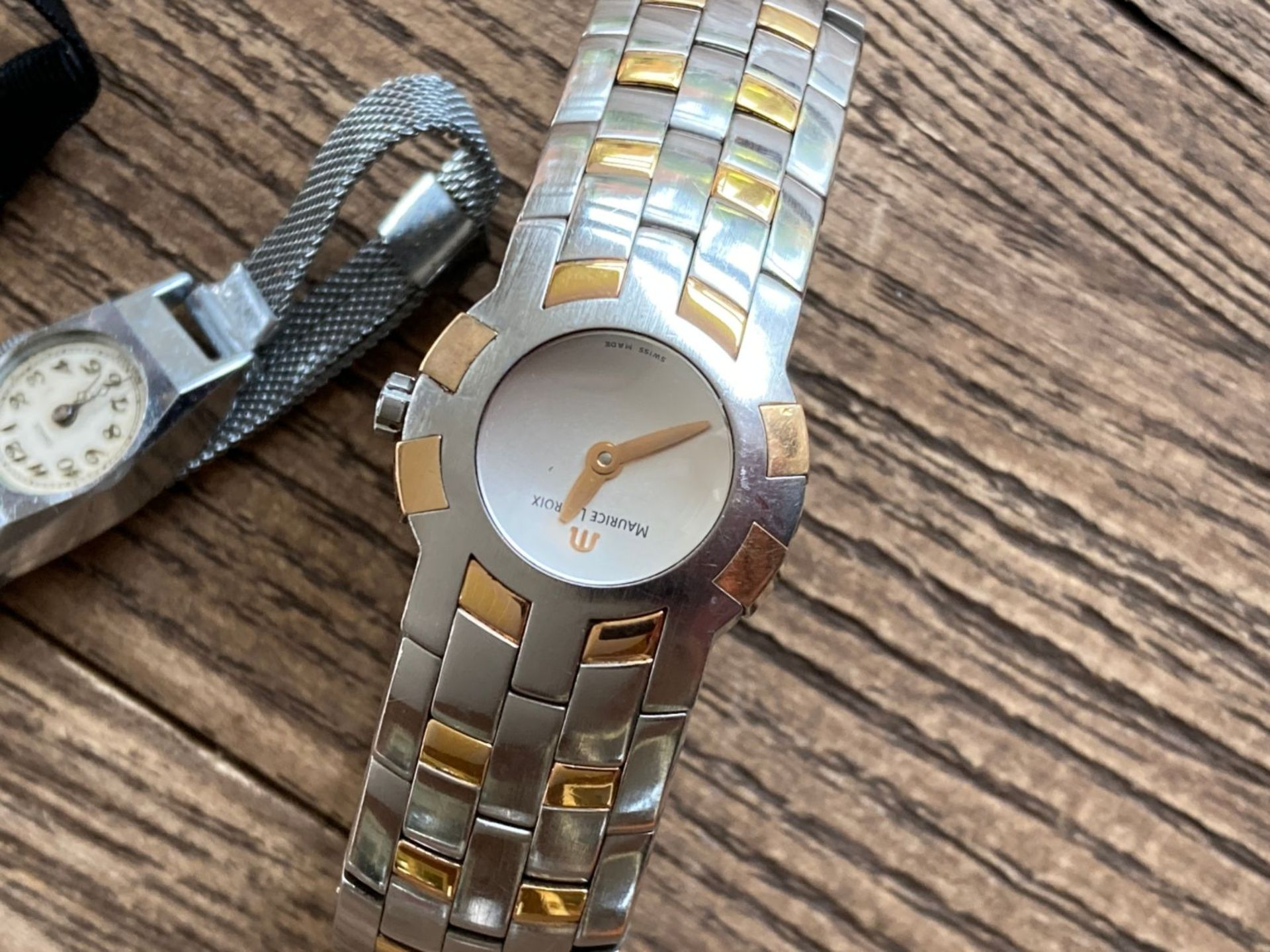 MIXED WATCHES INC MAURICE LACROIX STEEL AND GOLD, CHARRIOL DIAMOND SET ETC - Image 2 of 3