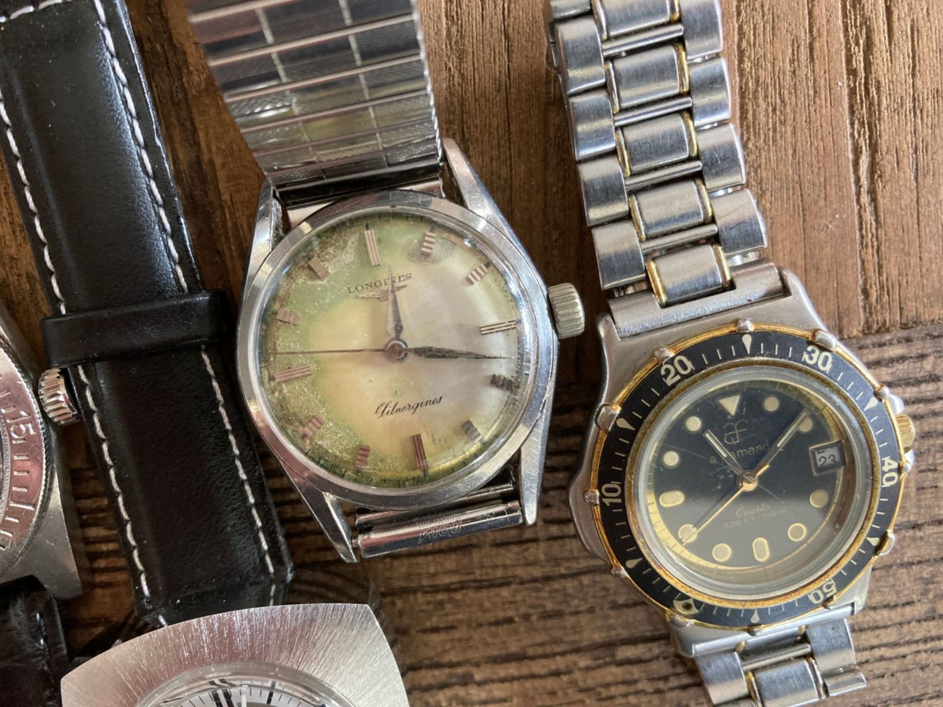 MIXED WATCHES INC LONGINES, ORION, VIALUX - Image 2 of 3