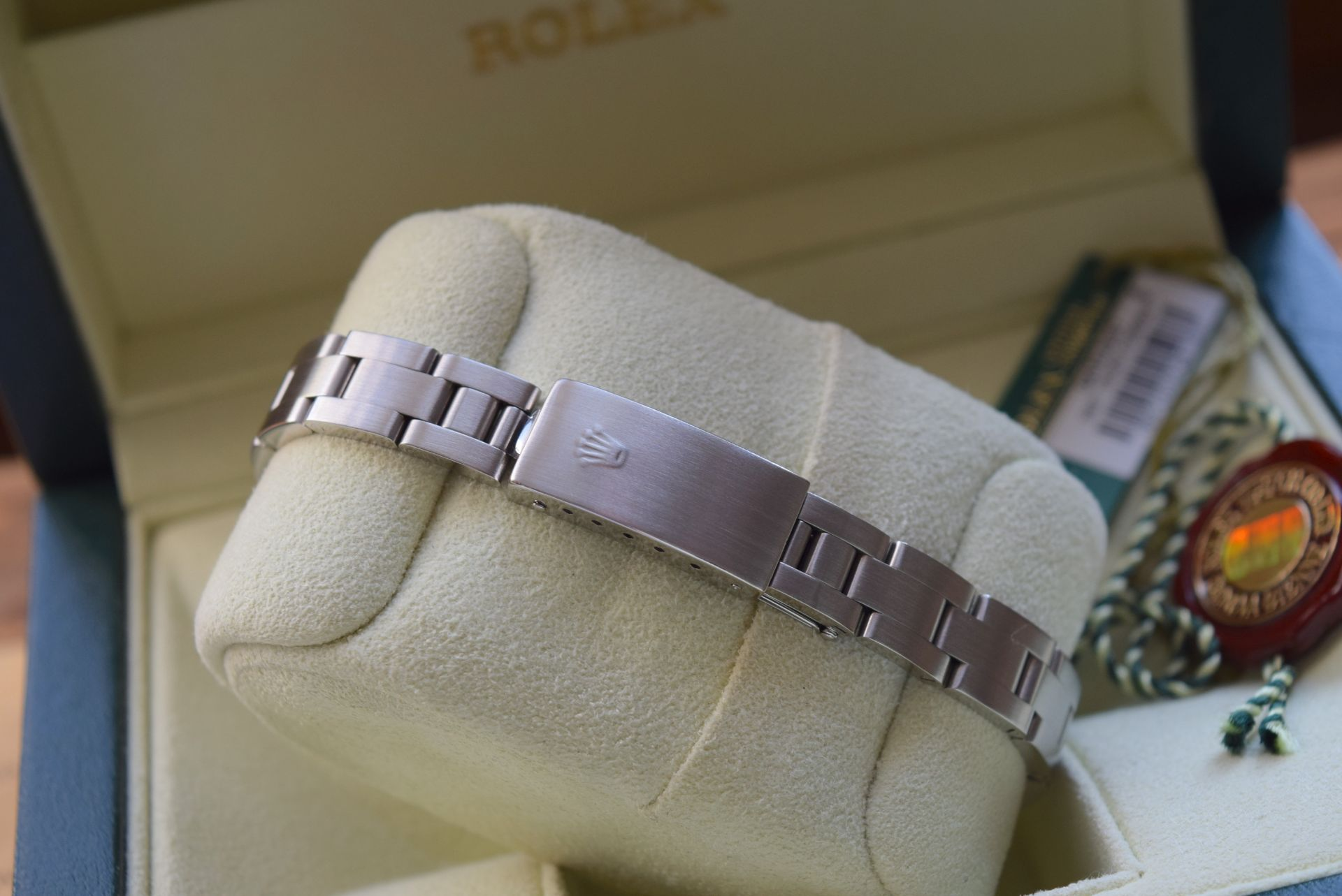 *FULL SET* ROLEX DATEJUST (LADIES) STEEL & 18CT WHITE GOLD - NAVY BLUE 'ROMAN NUMERAL' DIAL - Image 8 of 19