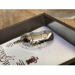 14CT GOLD 0.2CT DIAMOND RING