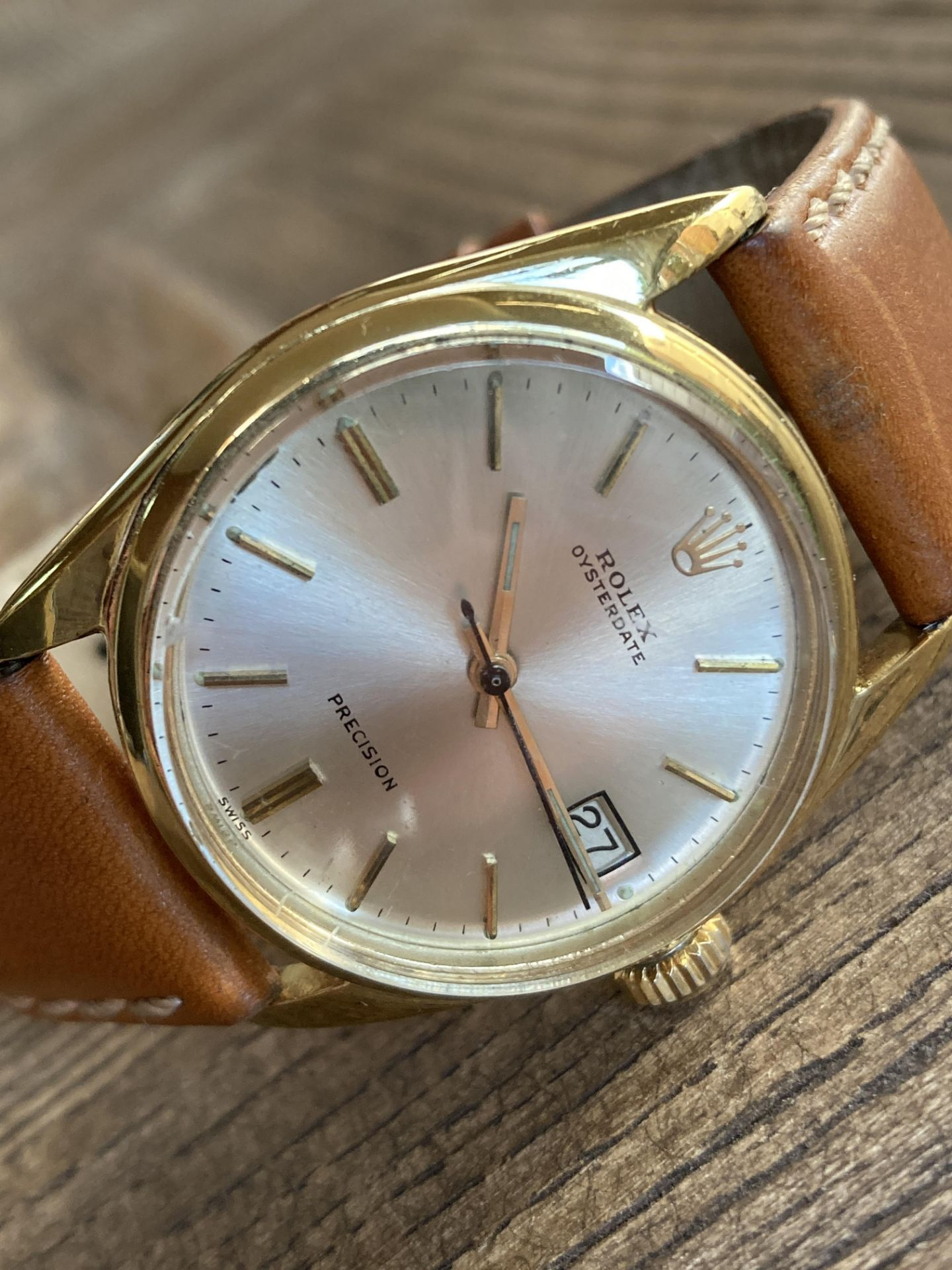 ROLEX OYSTERDATE PRECISION WATCH (34MM) - Image 2 of 3