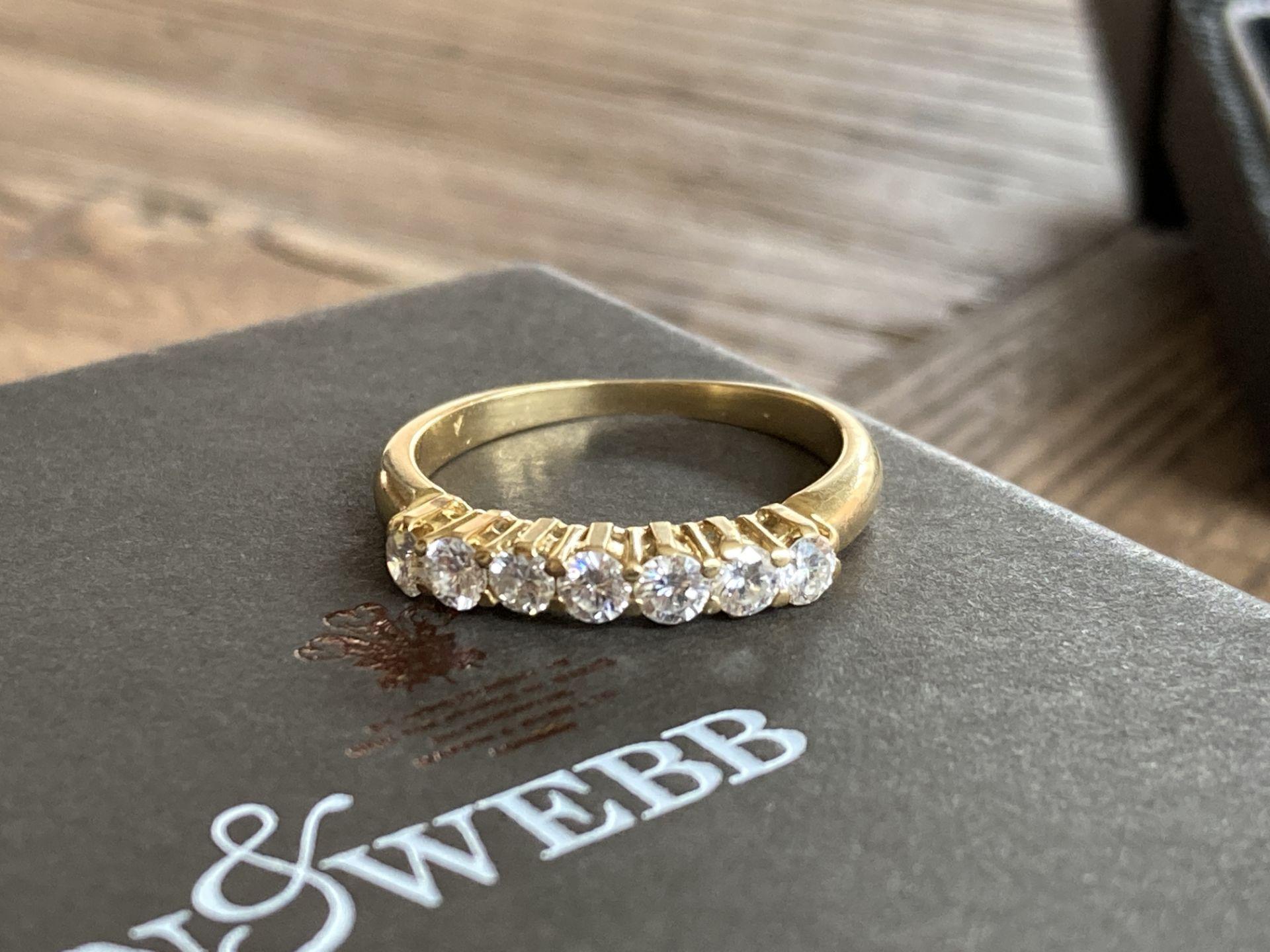 0.5CT DIAMOND RING IN 18K GOLD
