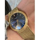 PATEK PHILIPPE 18CT YELLOW GOLD WATCH (WEIGHT: 102.7G) CASE SIZE 35.5MM APPROX