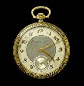 Vacheron Constantin Vacheron Constantin chronometer pocket watch and chain SWITZERLAND 18k gold