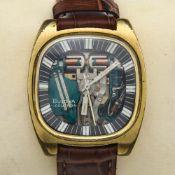 Bulova Bulova Accutron bracelet watch 1960-1970 Bulova Accutron for men Gold-plated steel casing,
