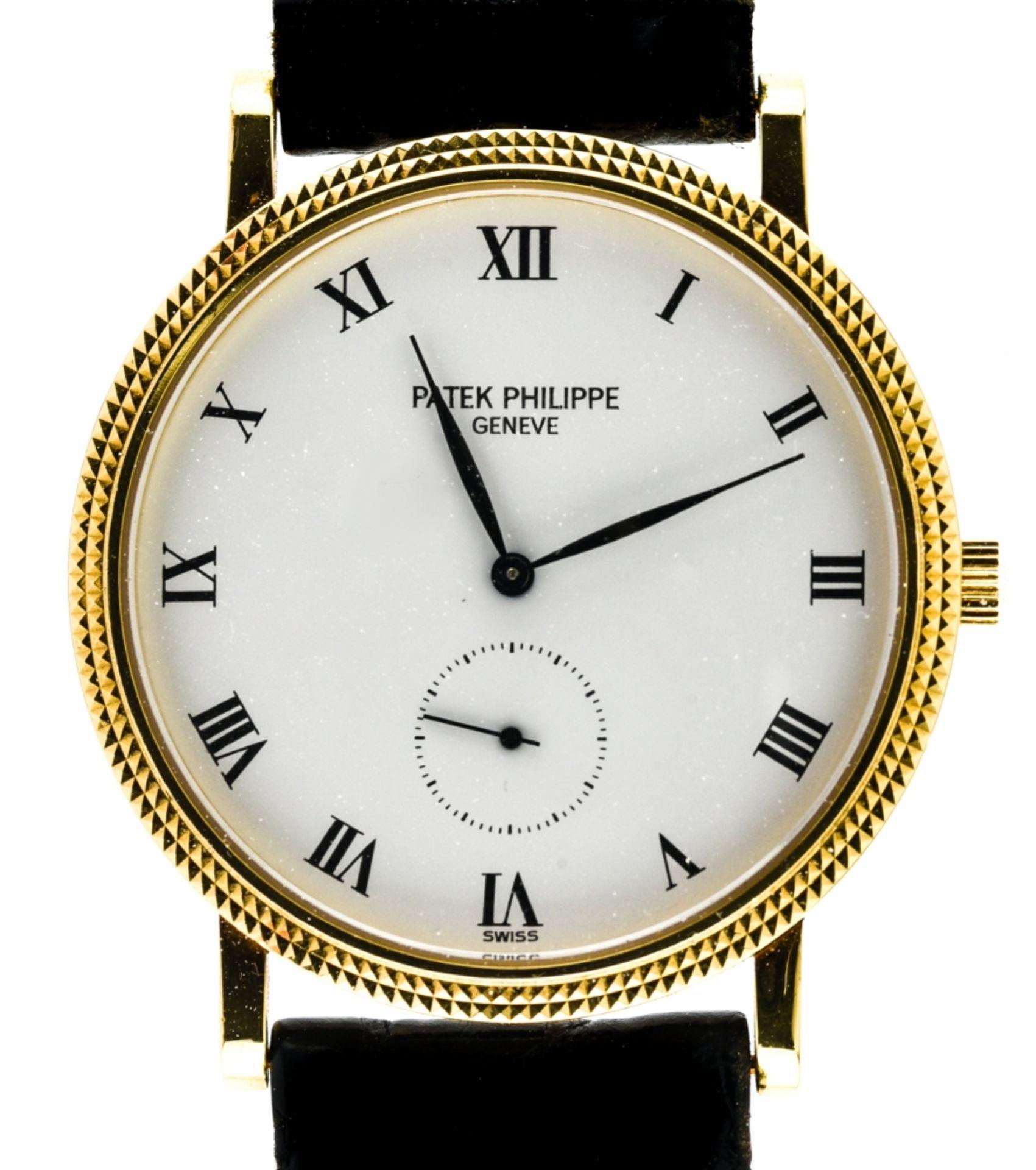 """Patek Philippe Calatrava """"Clous de Paris"""" men's watch,"""