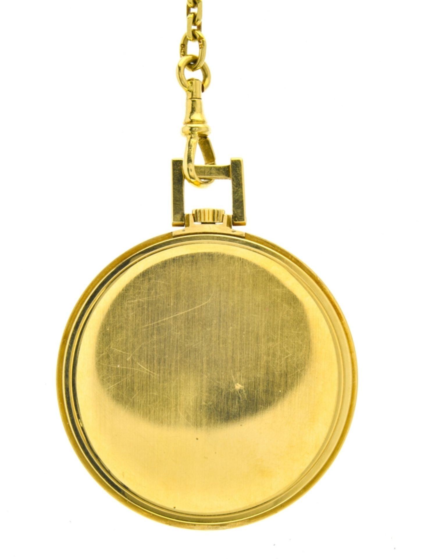 Ulysse Nardin Ulysse Nardin chronometer watch SWITZERLAND 18k gold Ulysse Nardin pocket watch. - Image 2 of 3