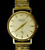 Gigandet Gigandet bracelet watch SWITZERLAND 18 kt gold Gigandet with manual movement Silvery dial