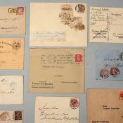 Konvolut Briefe, Karten, Ganzsache Altdeutschland-Besatzungszonen insg. ca. 24 Briefe, Karten, Ganz