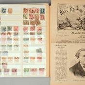 Sammlung Briefmarken Europa postfrisch und gestempelt, dabei viele interessante Anfangswerte, dabei