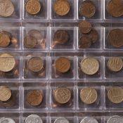 Konvolut Münzen alle Welt insg. über 250 Münzen, dabei u.a.: Kaiserreich, Weimarer Republik, Ira