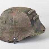 Stahlhelm mit Tarnbezug III. Reich